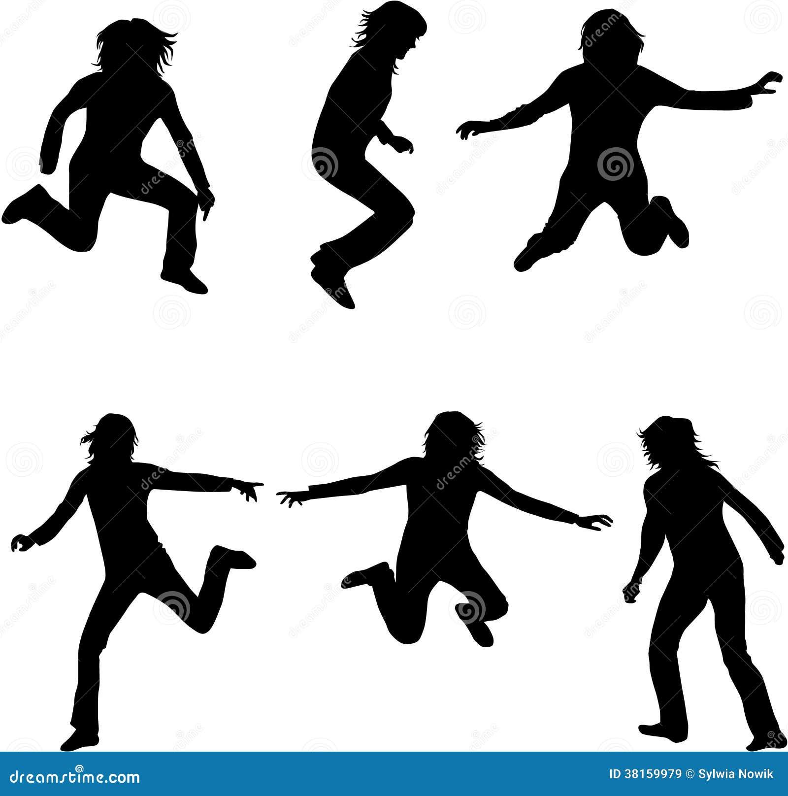 Tanzenschattenbilder