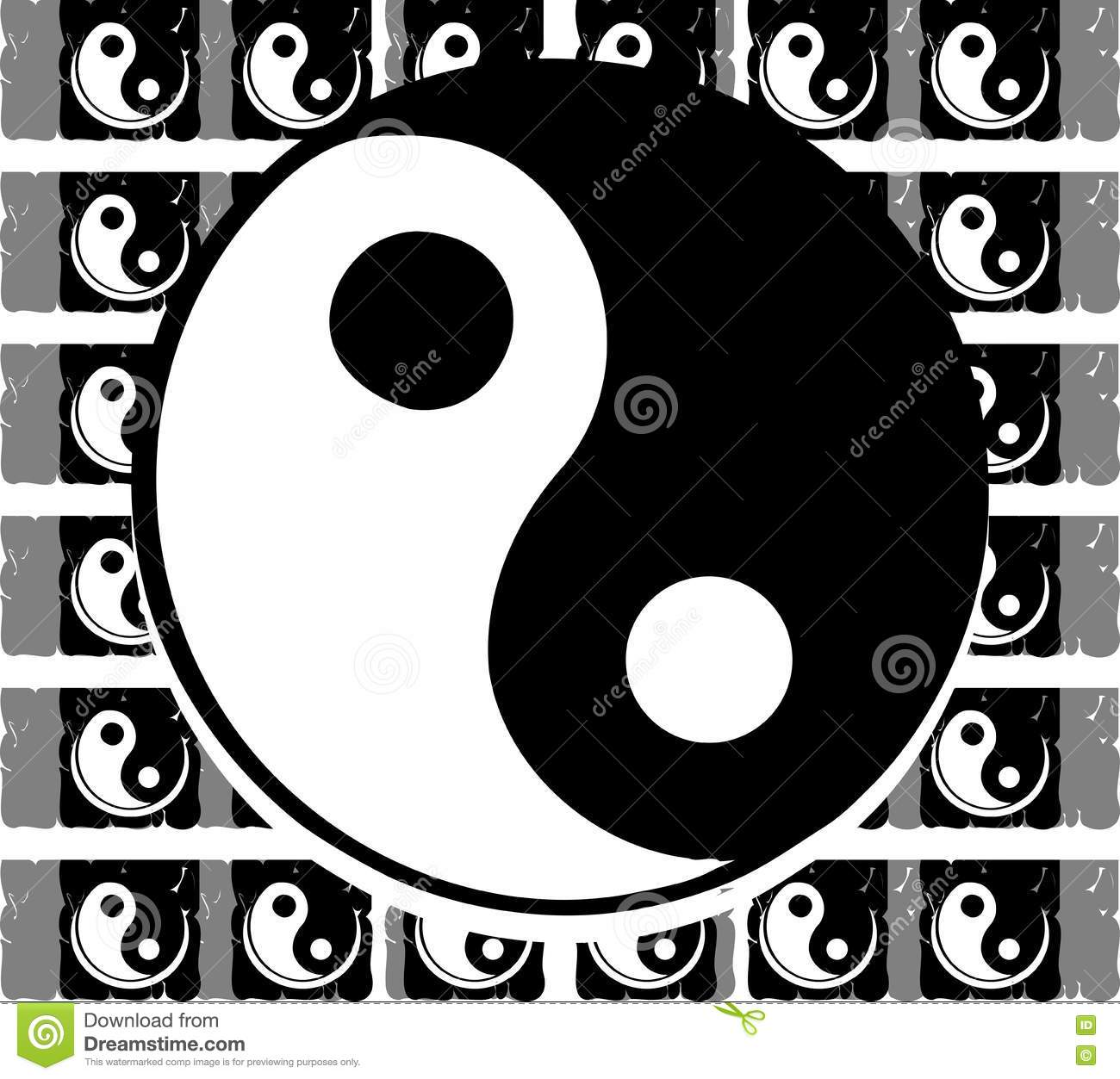 Tao of texture grayscale stock vector illustration of colour 75061484 tao of texture grayscale buycottarizona Images