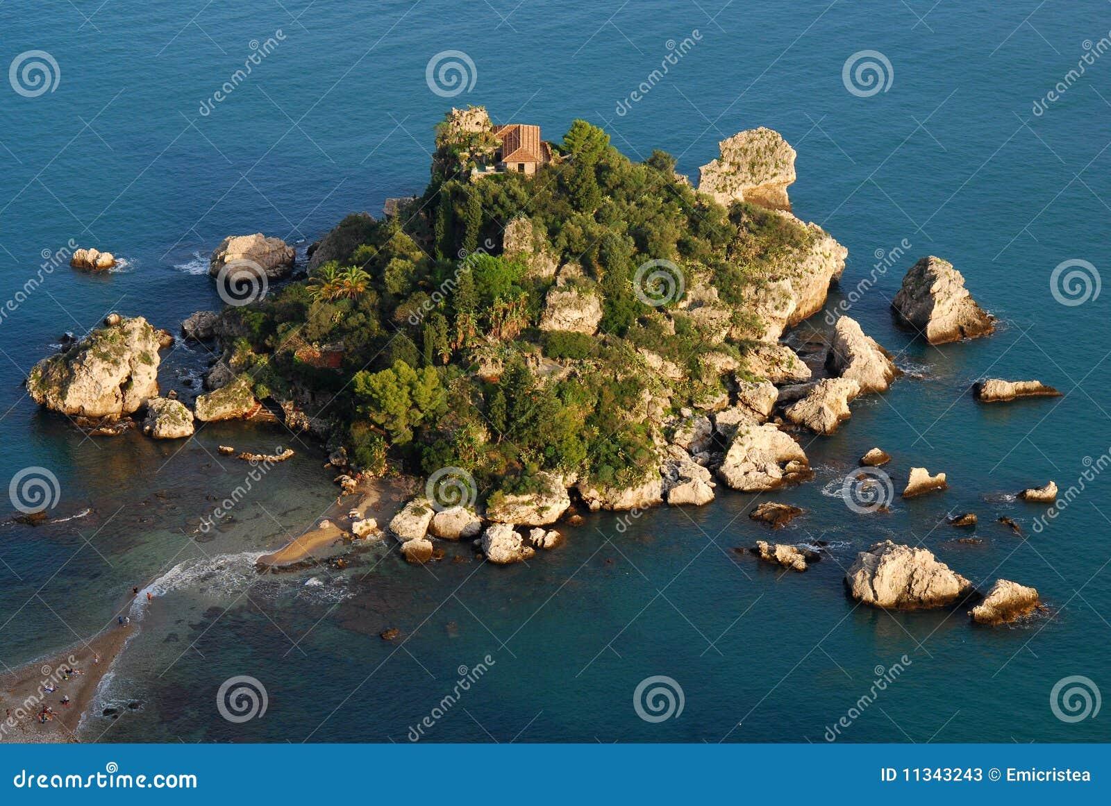 Taormina της Σικελίας isola bella