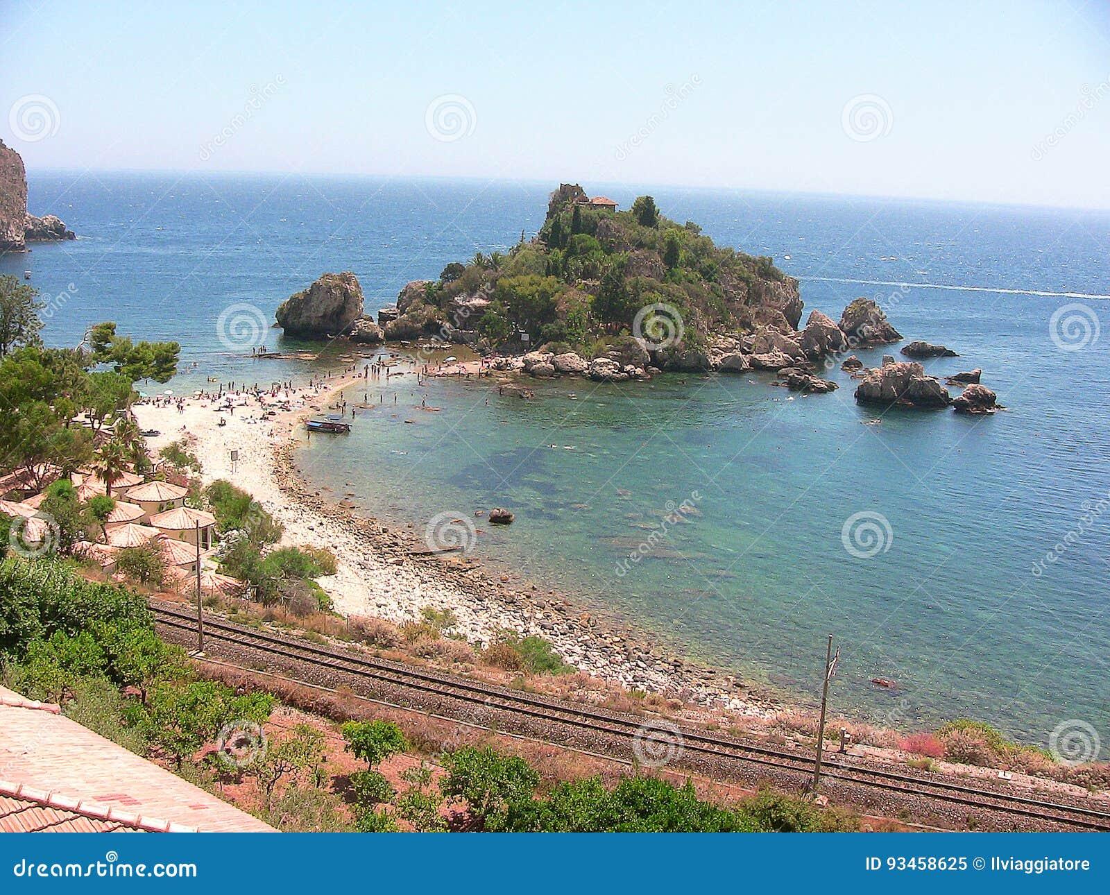 Taormina Isola Bella strand