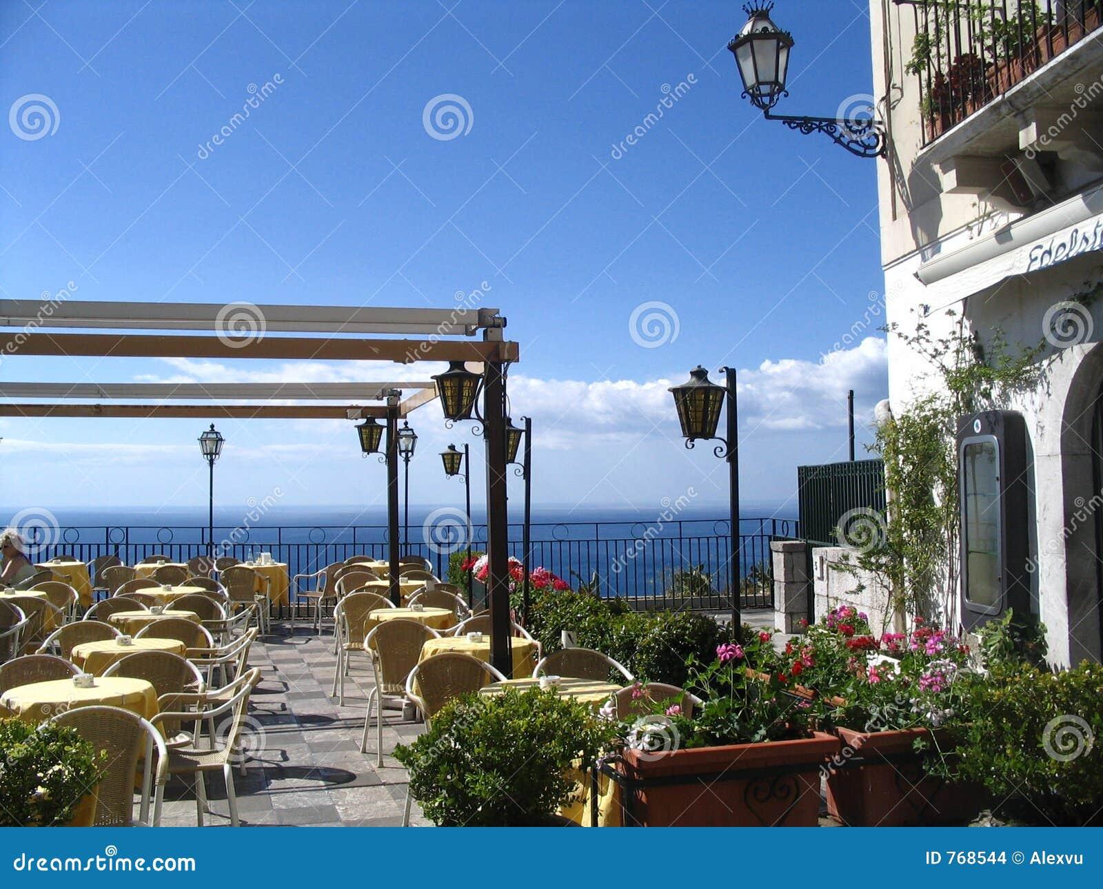 taormina, old town