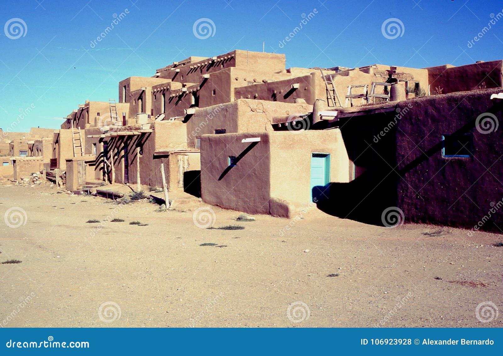 Taos osady domy