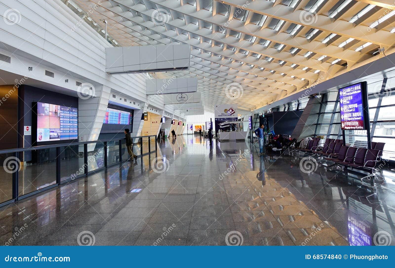 Taoyuan Airport In Taipei, Taiwan Editorial Image - Image of