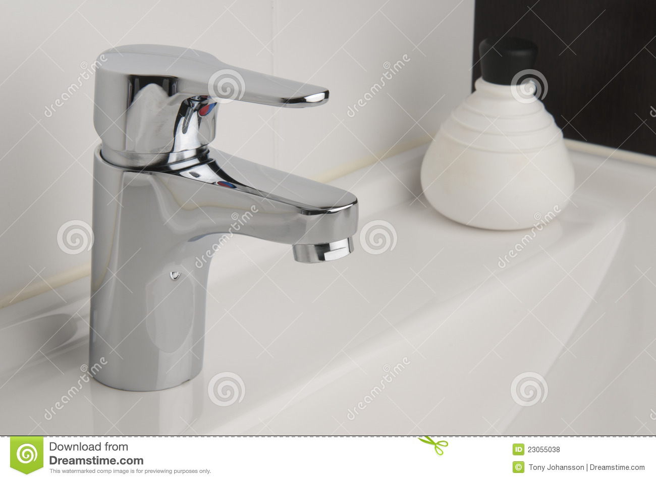 Tap In Bathroom Royalty Free Stock Photos Image 23055038