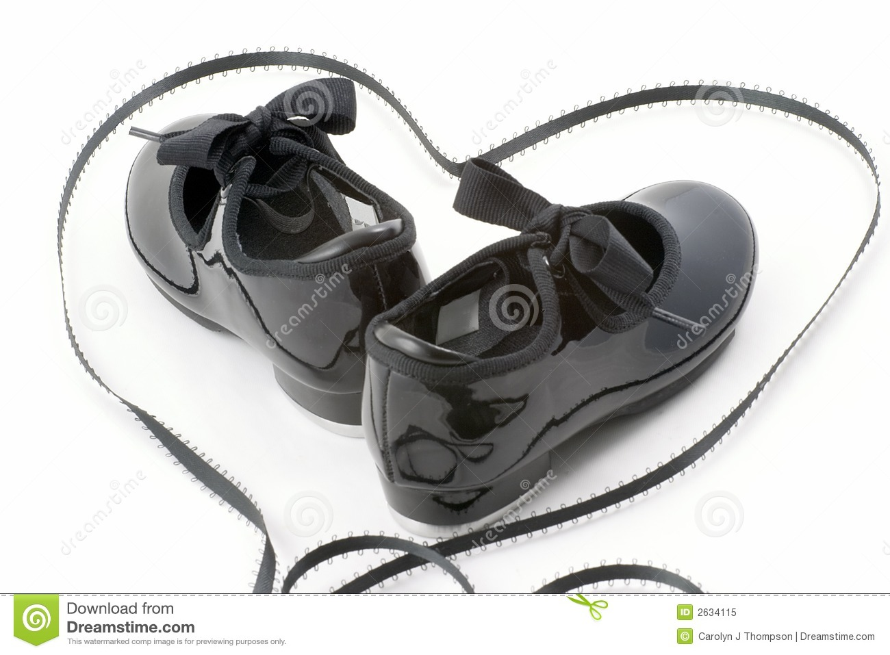 Tap Dance Shoes And Heart Stock Image Image Of Shoe Dream 2634115