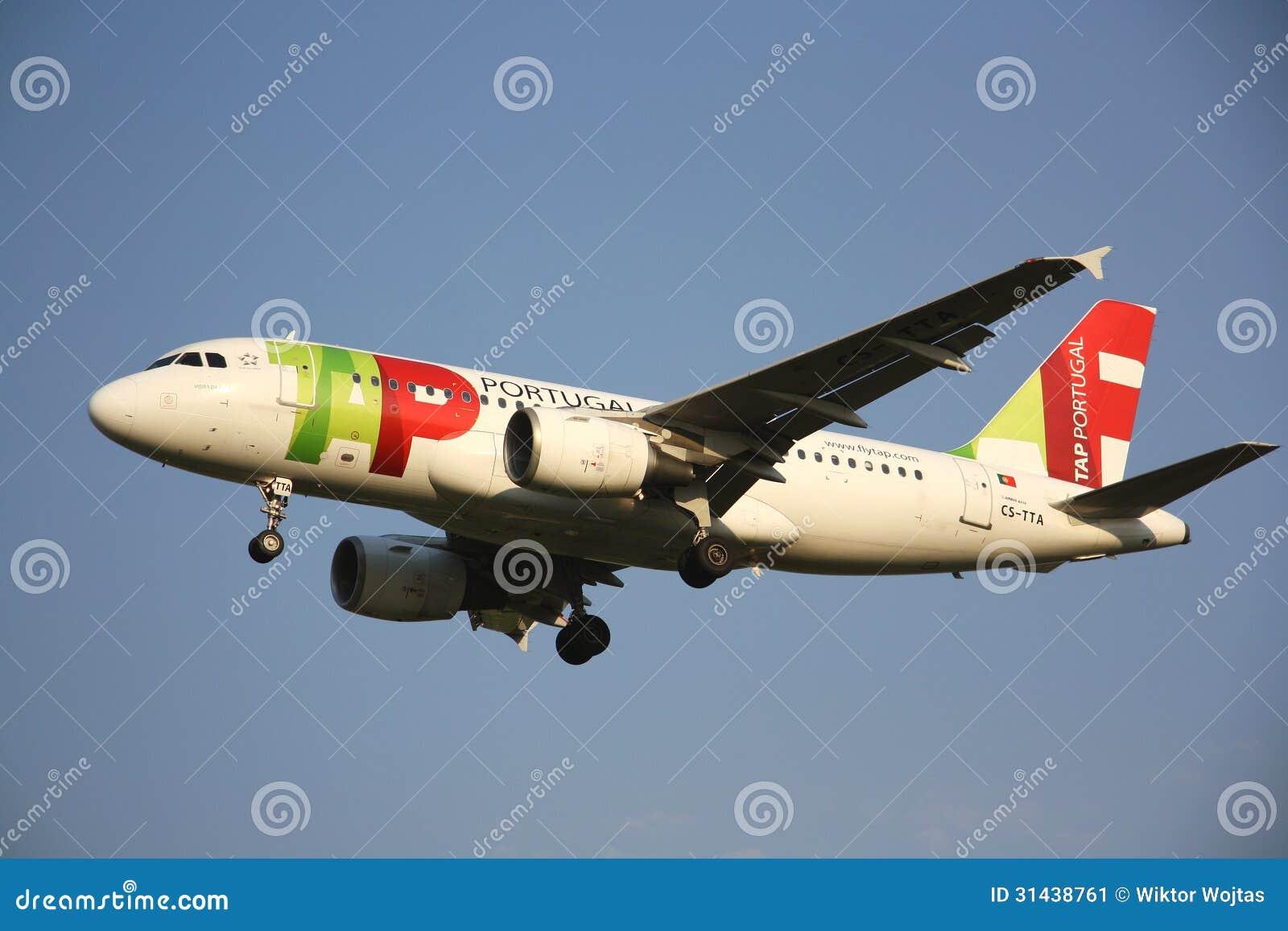 TAP Portugal flygbolagflygplan