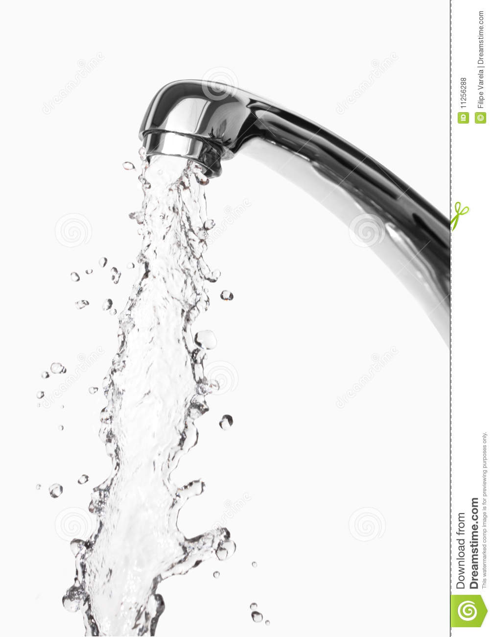 Tap Of Running Water Royalty Free Stock Photos Image