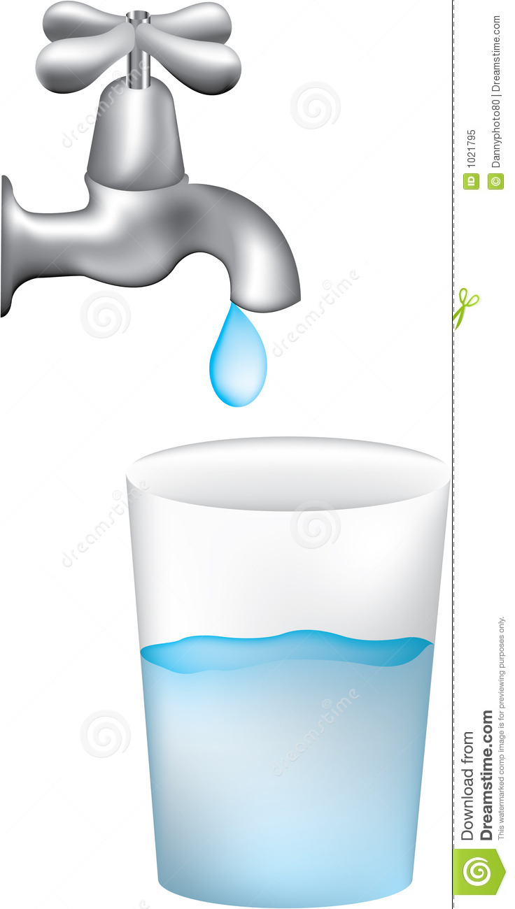 cup of water clipart - photo #18