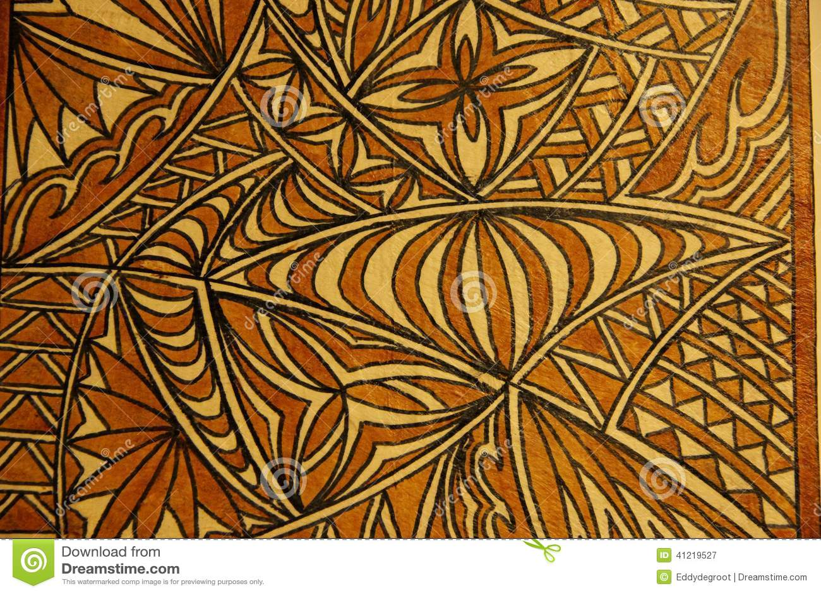 Tapa Cloth stock image. Image of pattern, bark, tourism ...