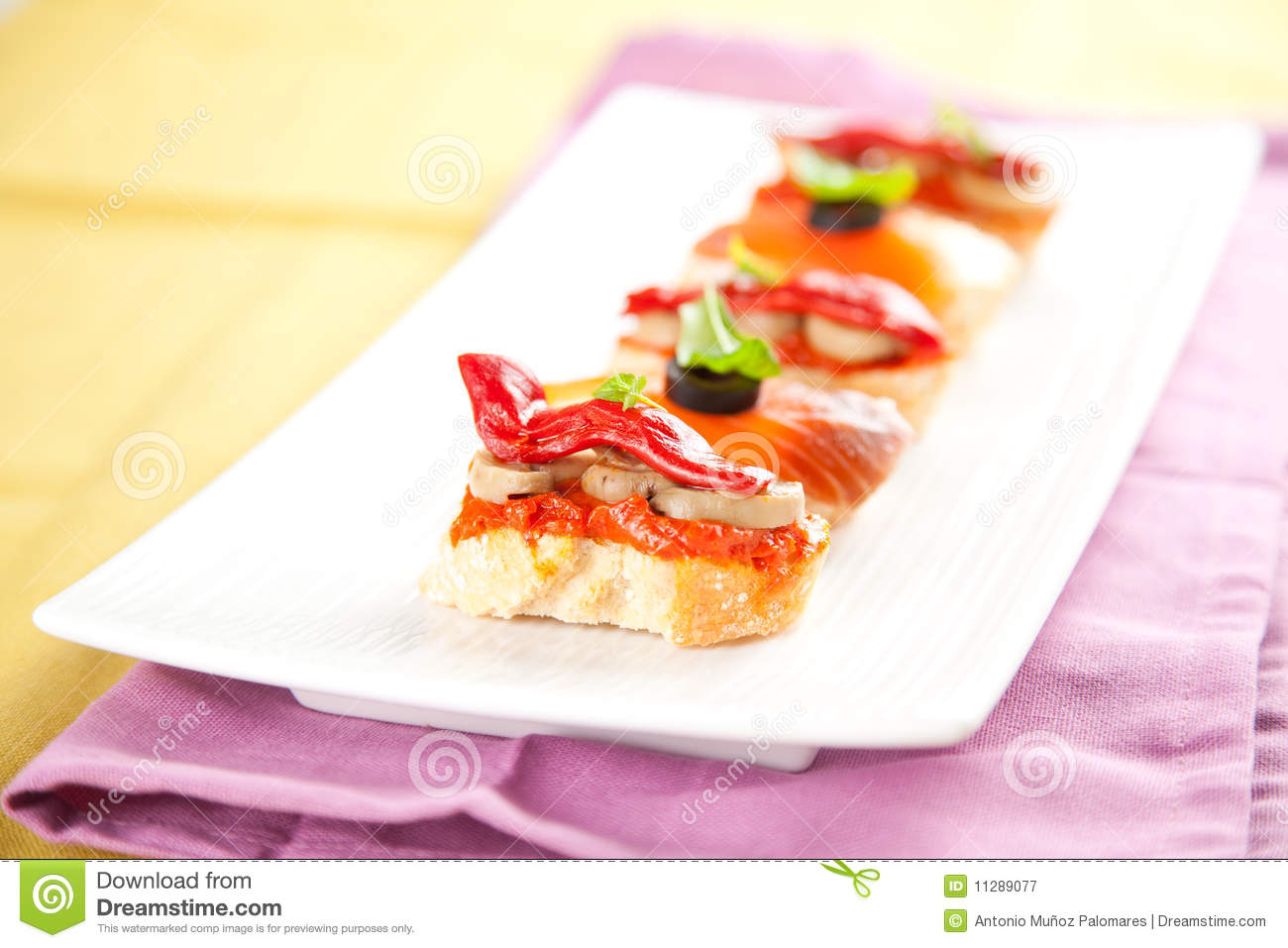 Tapas Spain Food Stock Image Image Of Background Culture 11289077