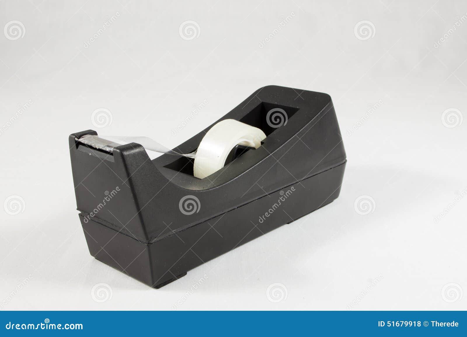 Scotch tape dispenser side view