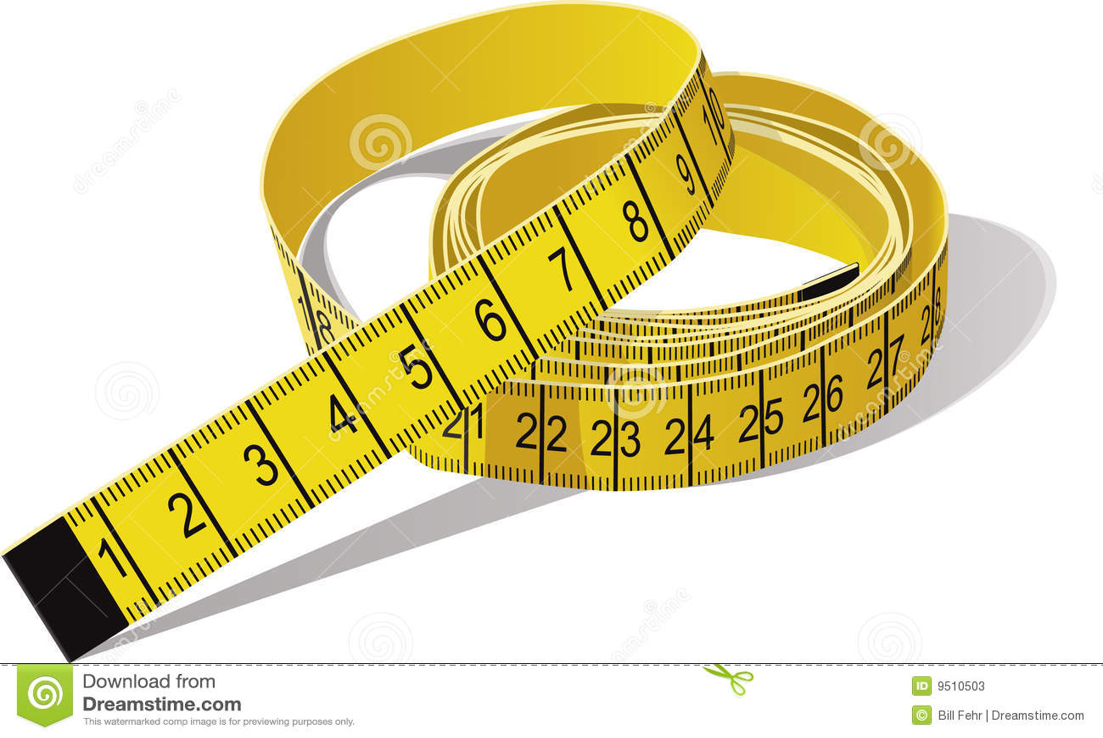 Tape Measure Stock Photos - Image: 9510503