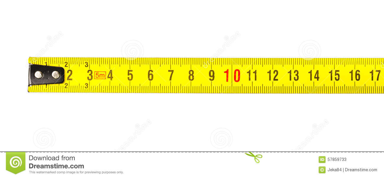 Tape Measure In Centimeters Stock Photo - Image: 57859733