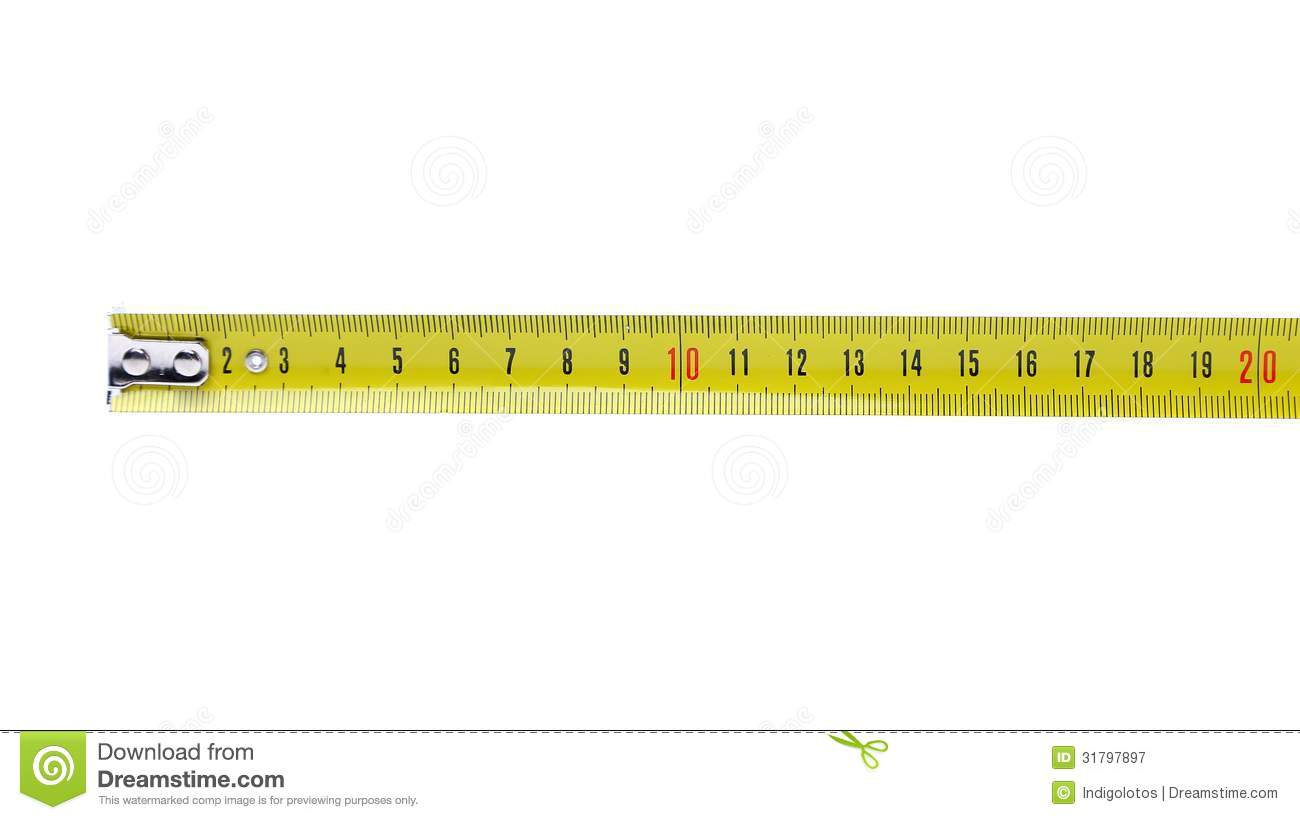 Tape Measure Horizontal Royalty Free Stock Photography ...