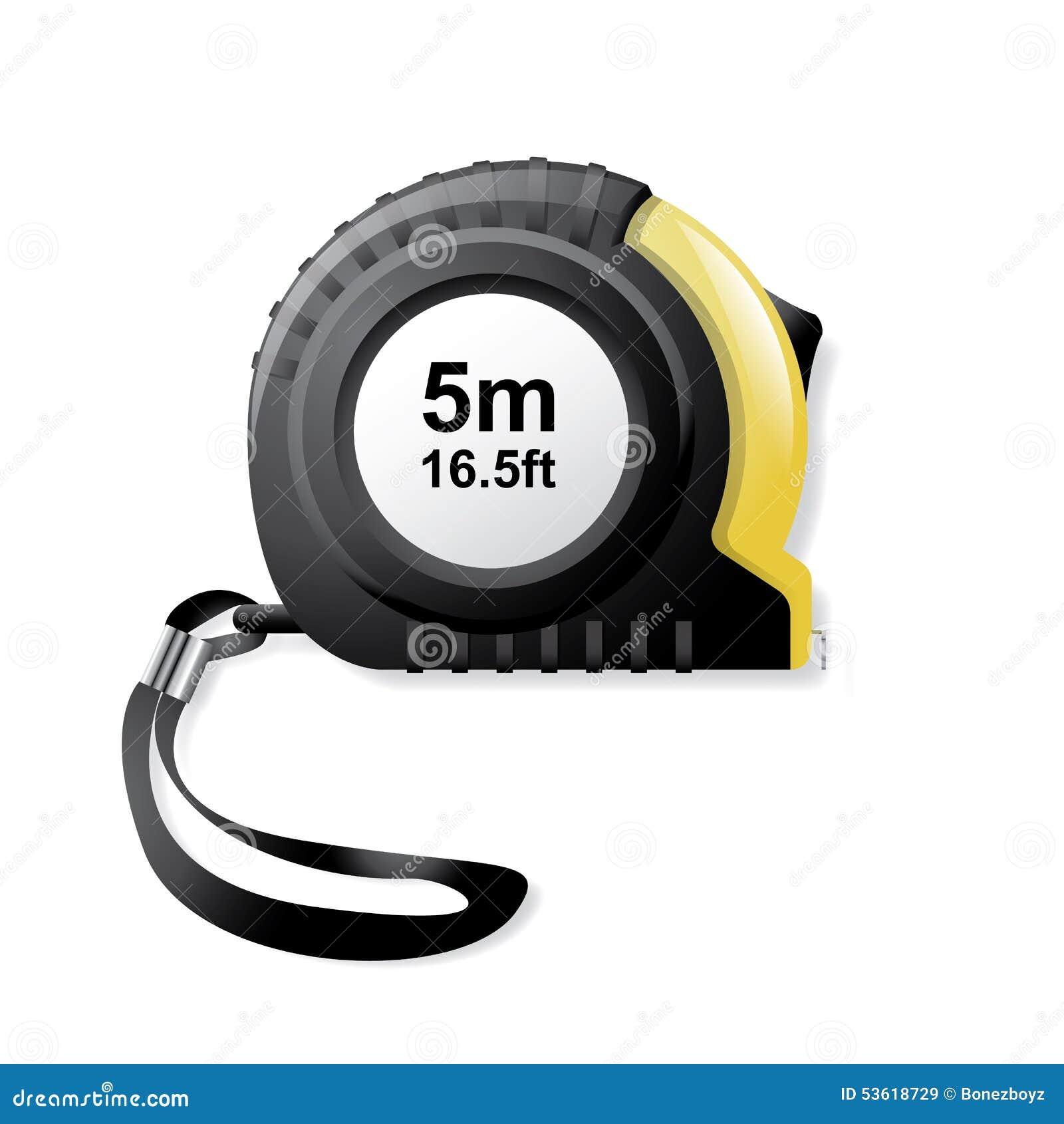 Tape Measure - Vector Illustration Stock Vector - Image ...