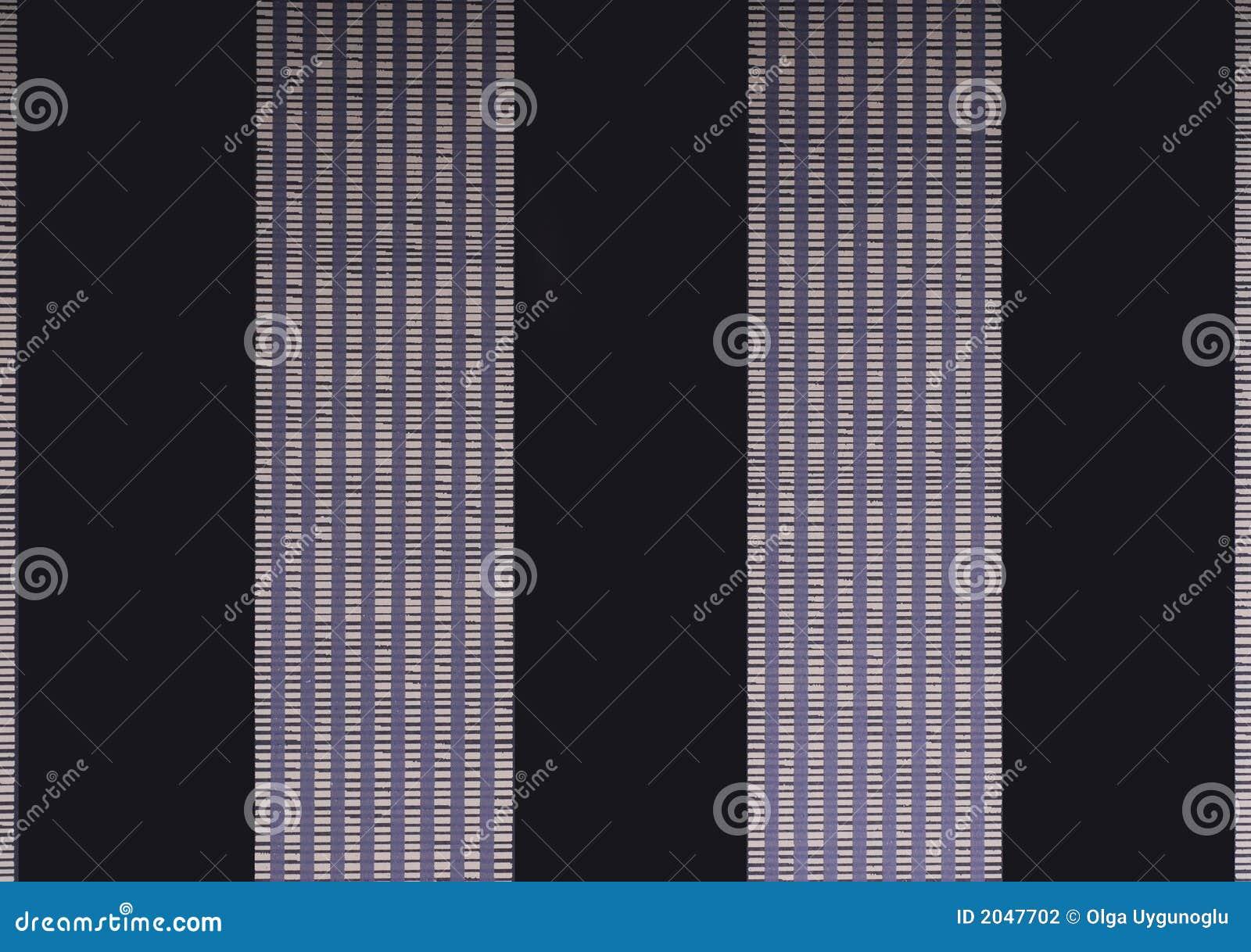Tapete mit zwei schwarz und violetten Zeilen