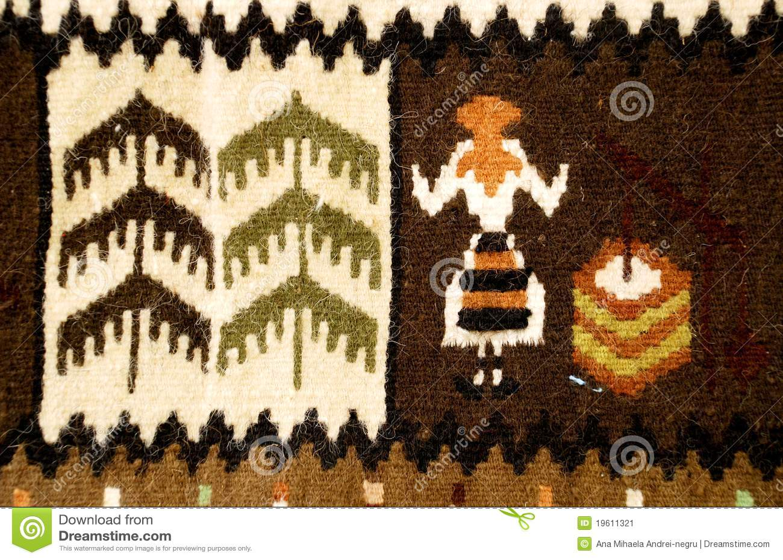 Tapete tradicional romeno