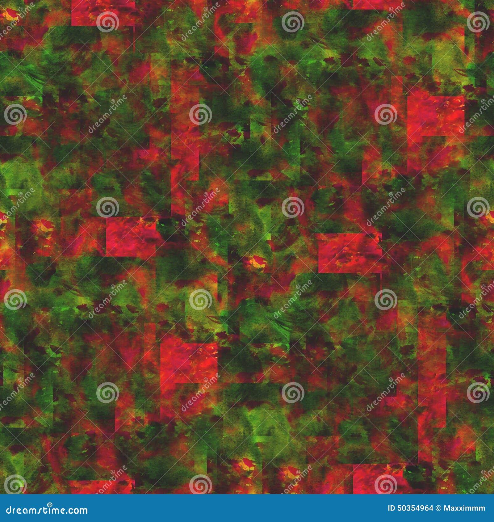 Tapetowego obrazka bezszwowa stylowa czerwień, zieleń