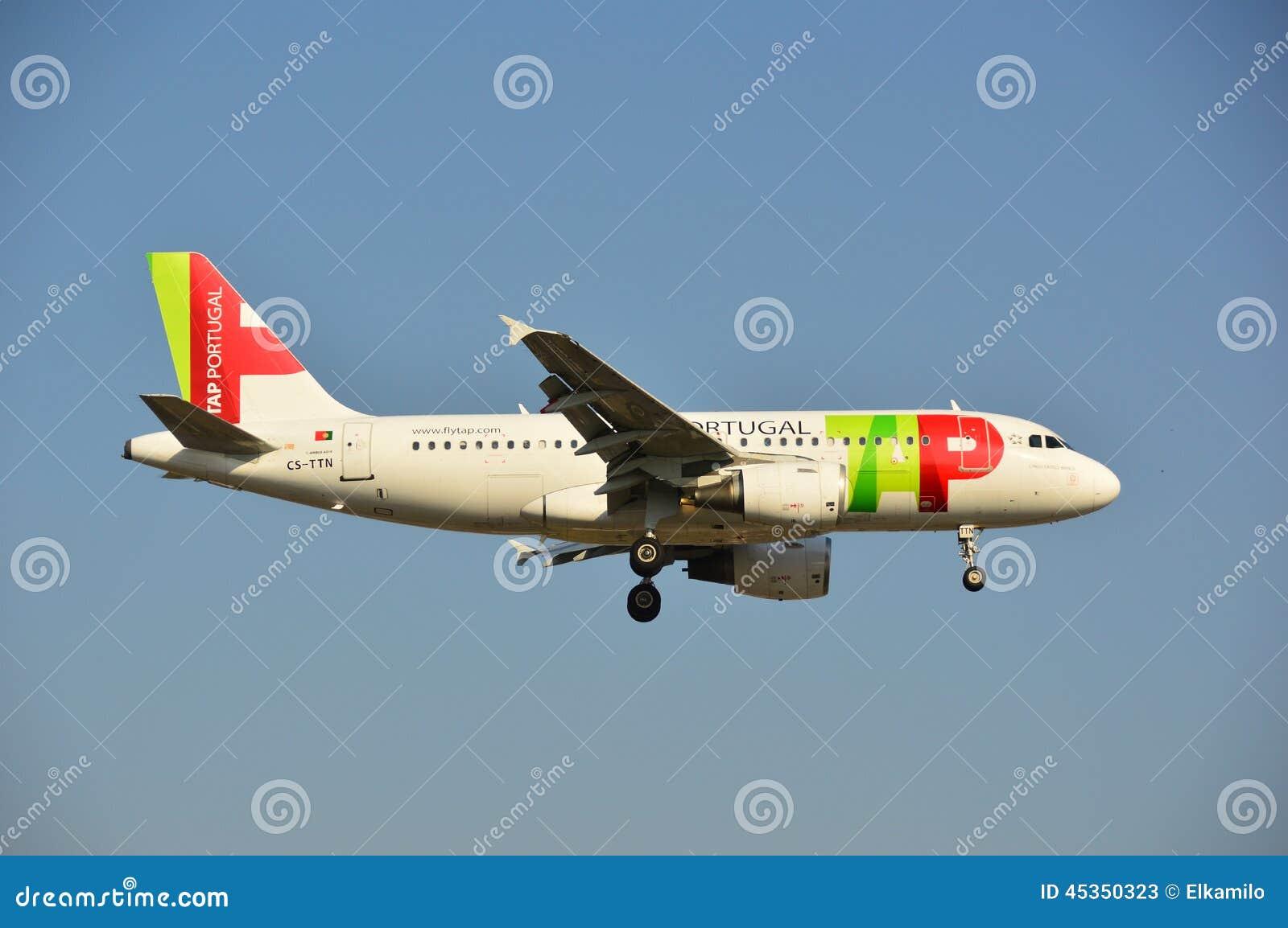 TAPEZ l avion du Portugal
