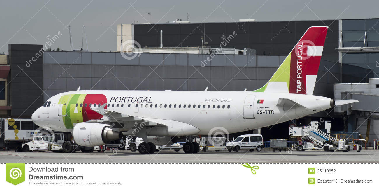 TAPEZ le Portugal, Airbus 319