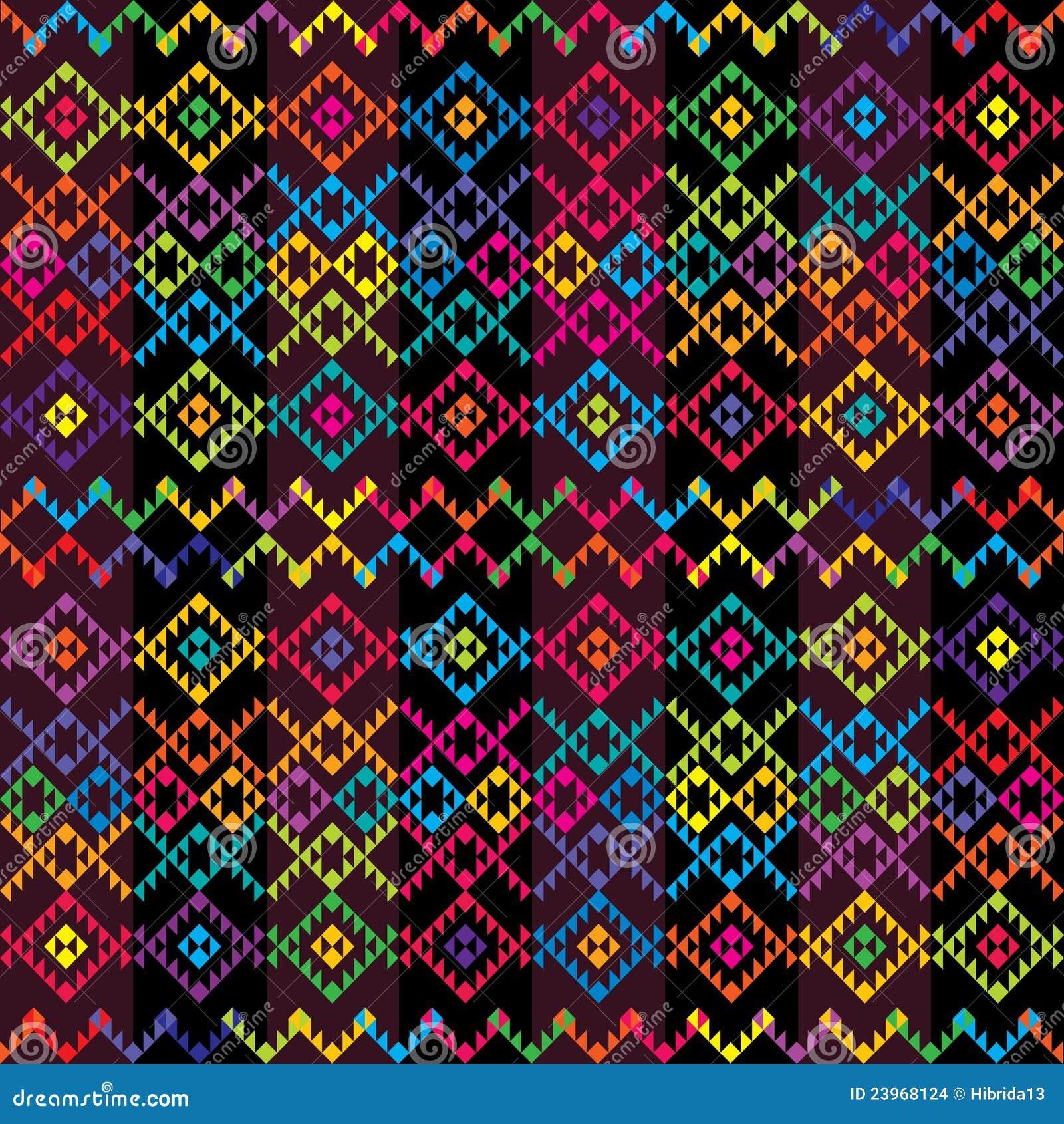 6e8c7678800687 Tapis coloré ethnique illustration stock. Illustration du gens ...