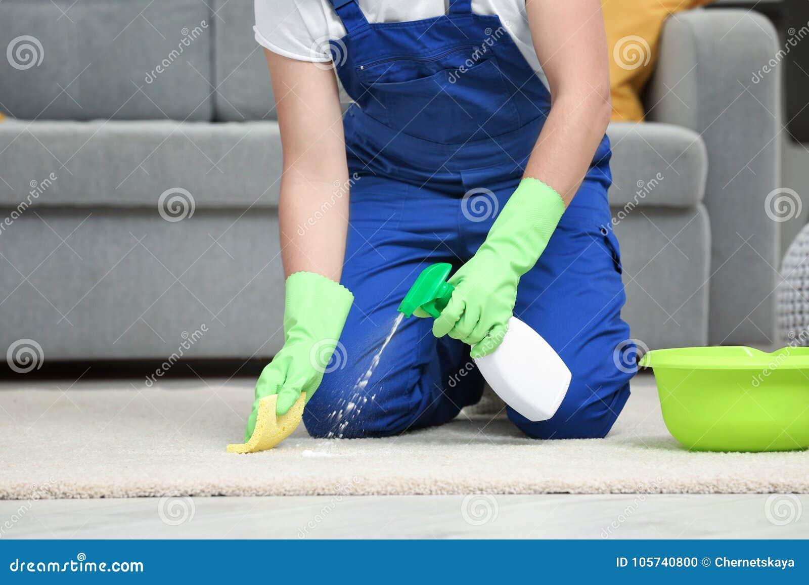 Tapis de nettoyage d homme