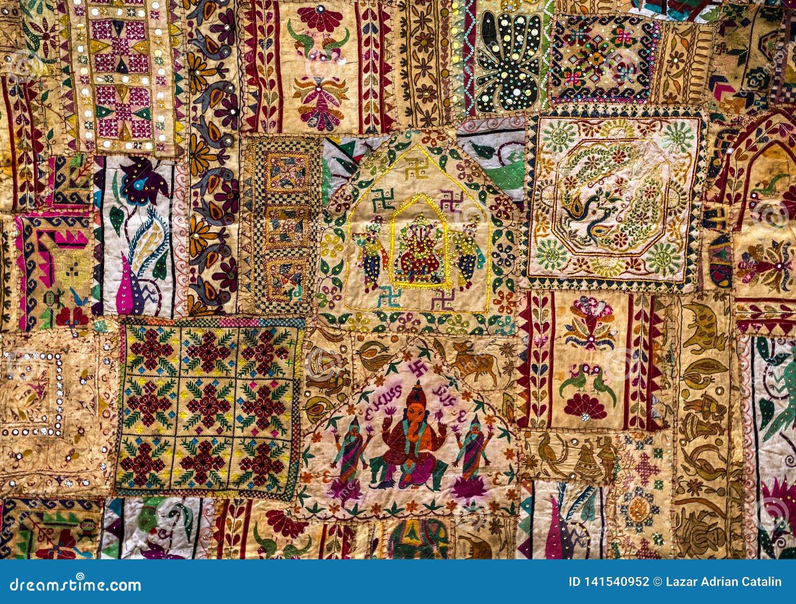 Tapis Indien De Rapiecage Photo Stock Image Du Asie 141540952