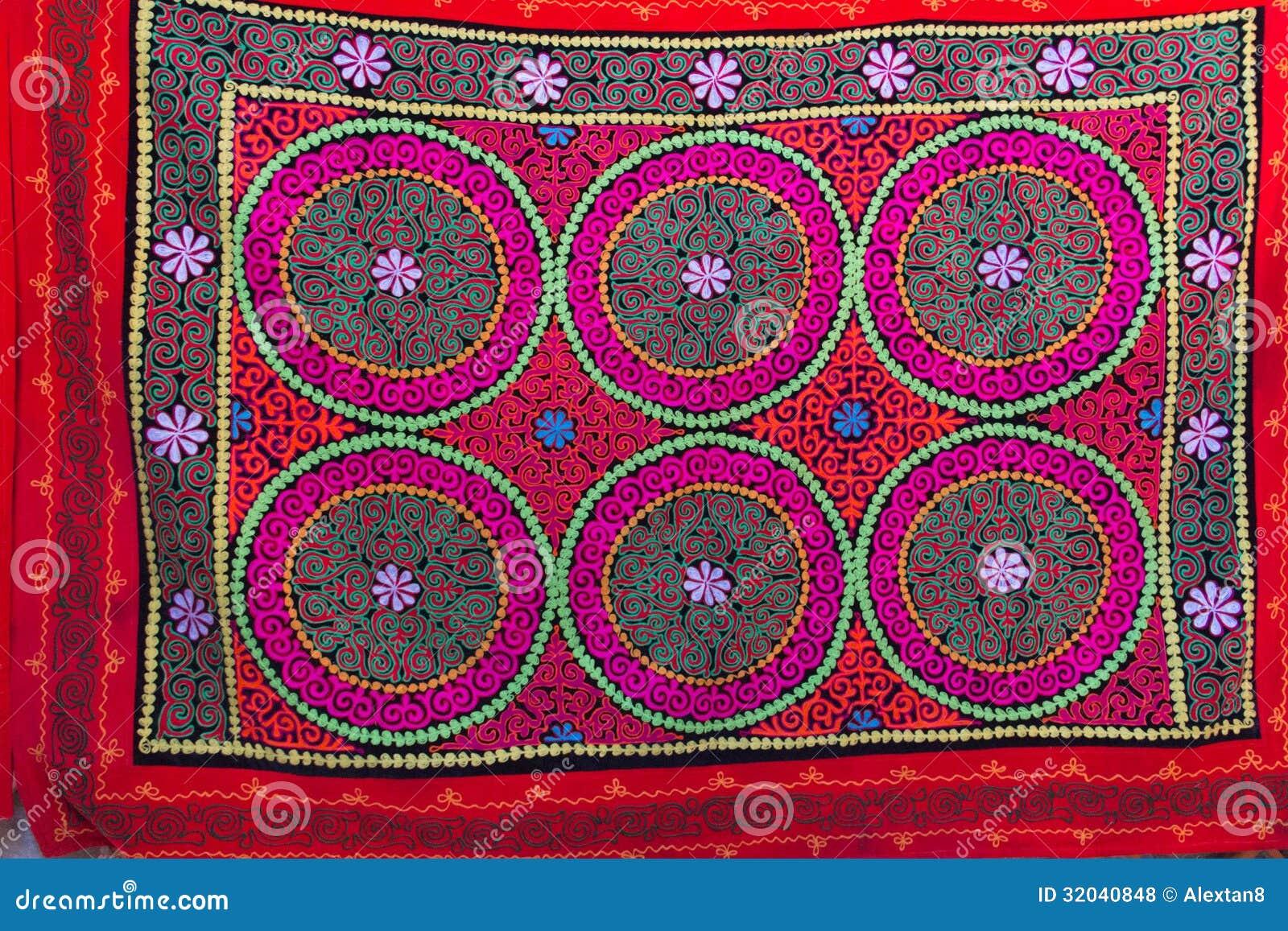 tapis nomade national photos libres de droits image 32040848. Black Bedroom Furniture Sets. Home Design Ideas