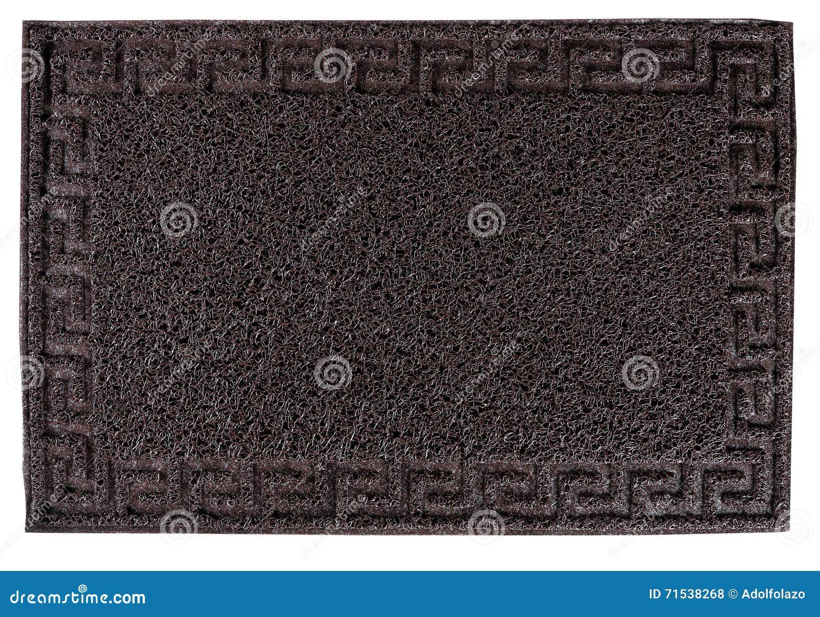 Tapis rectangulaire de plancher d entrée