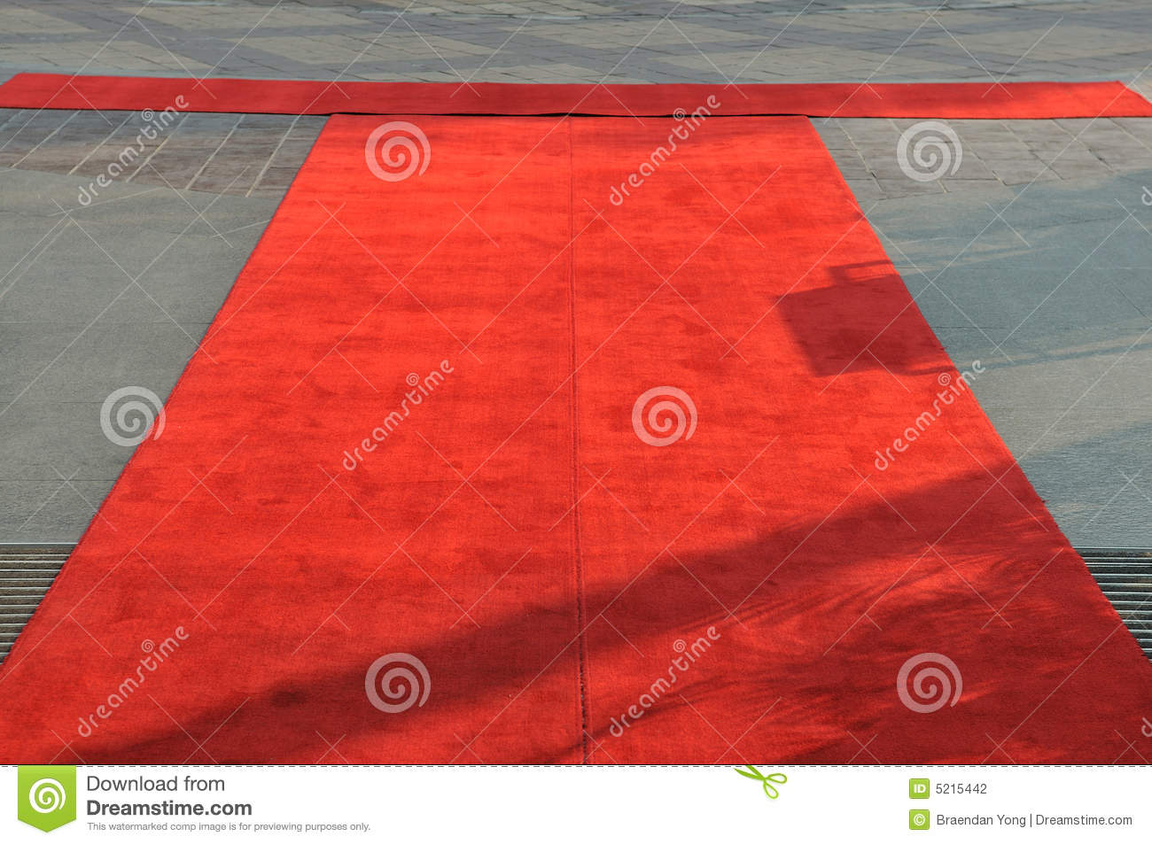 Tapis Rouge Photographie Stock Image 5215442