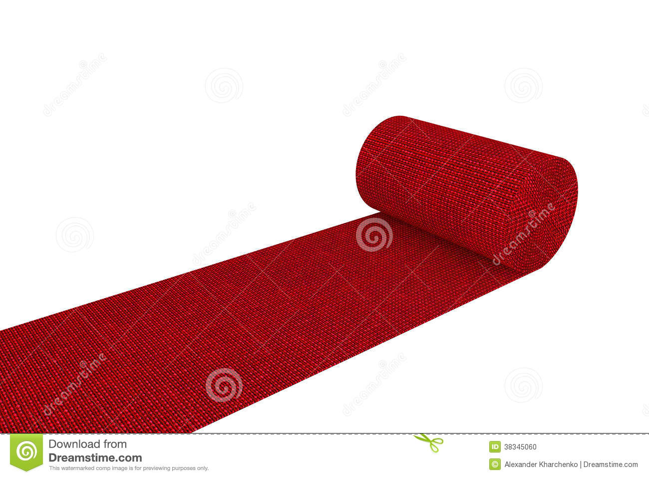 Tapis Rouge D Roul Photo Stock Image 38345060