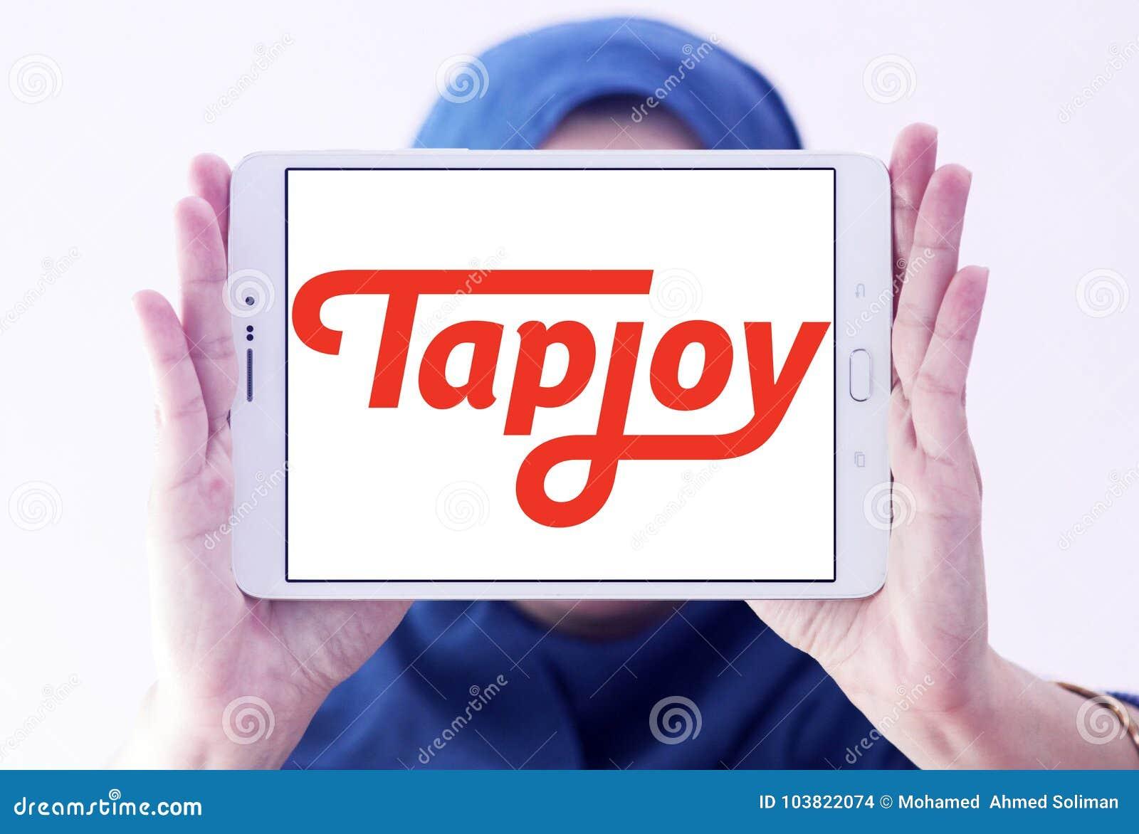 Tapjoy company logo editorial stock image  Image of