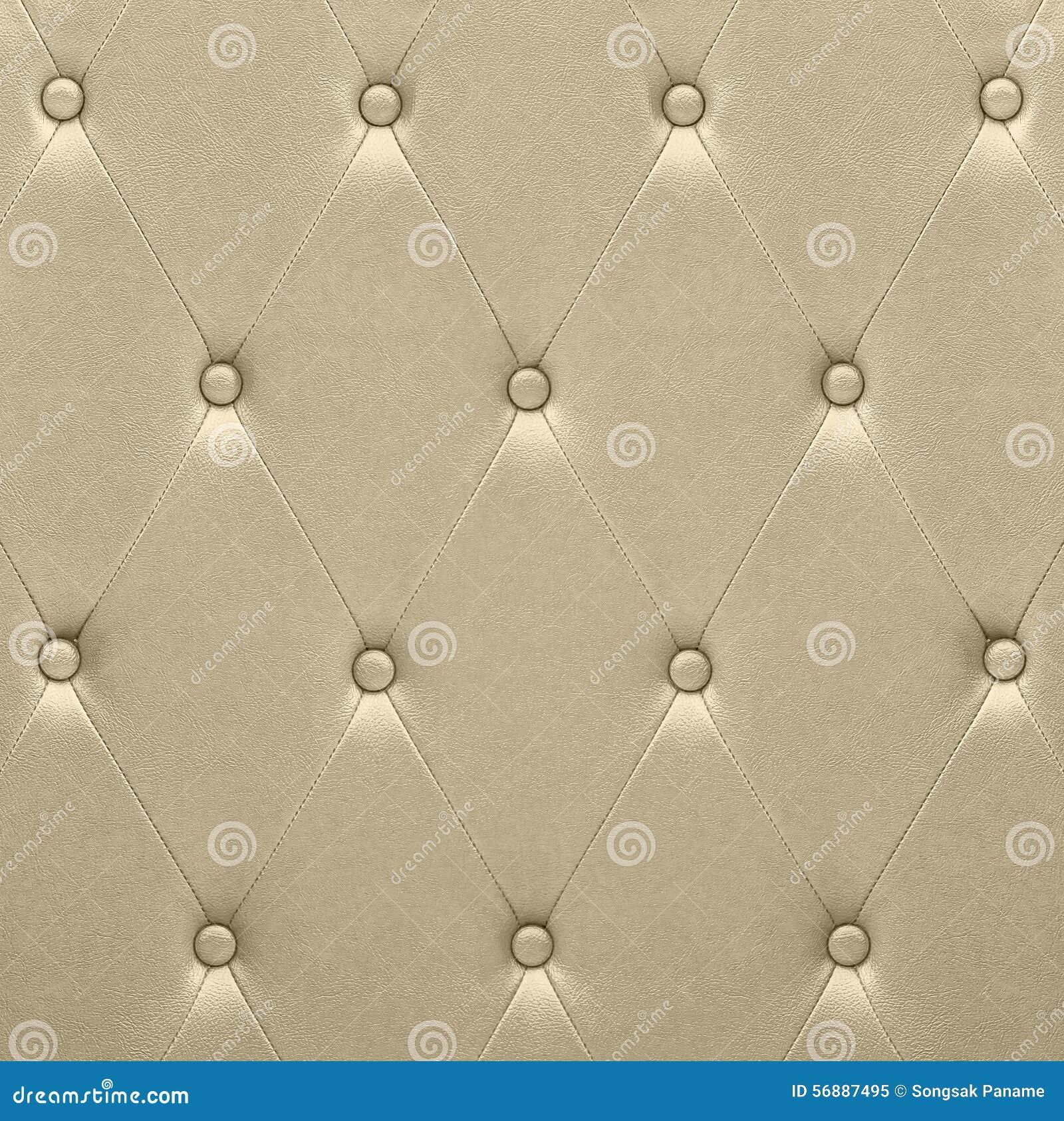 Tappezzeria di cuoio dorata lussuosa del sedile