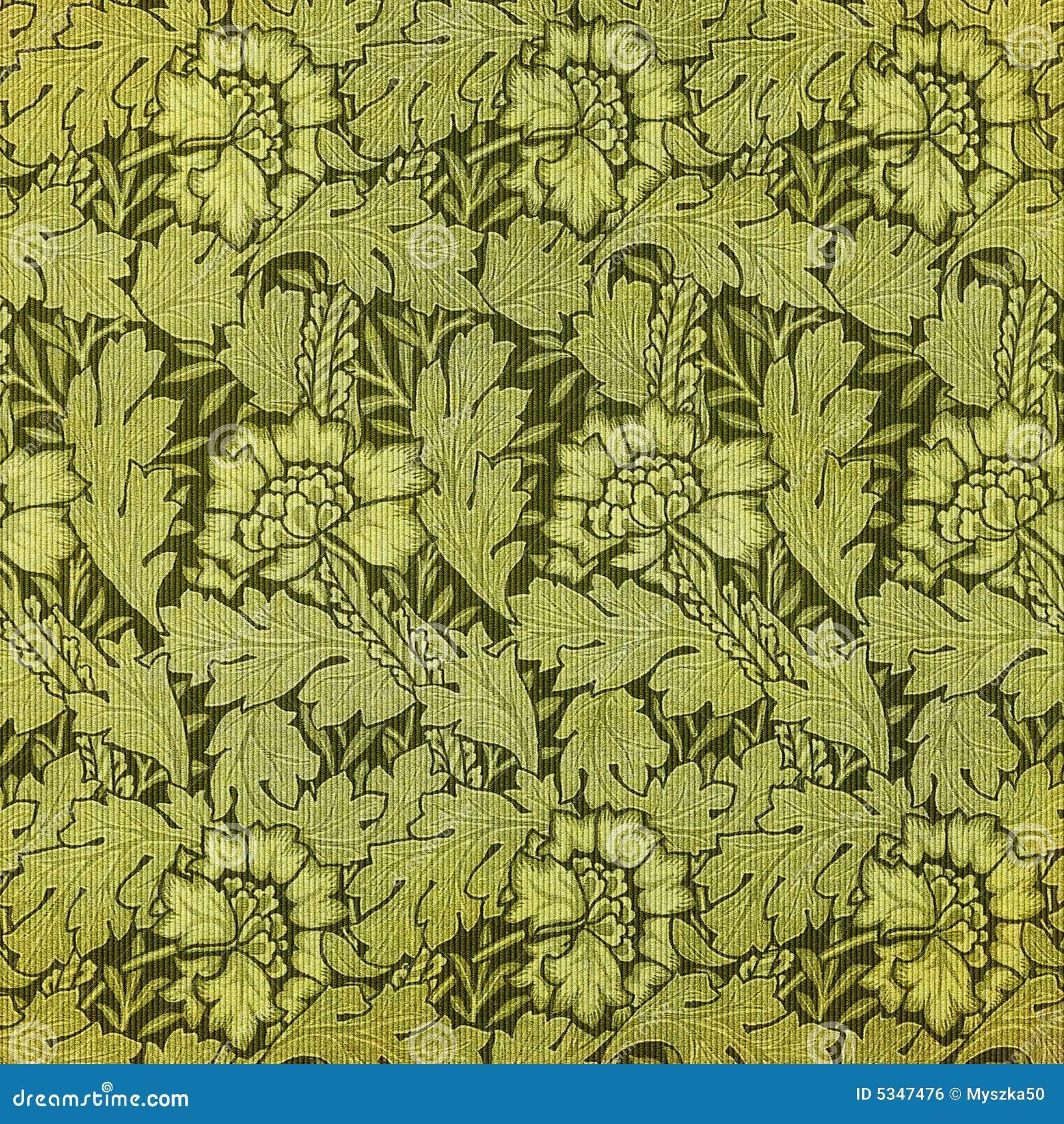 tappezzeria floreale verde immagine stock libera da