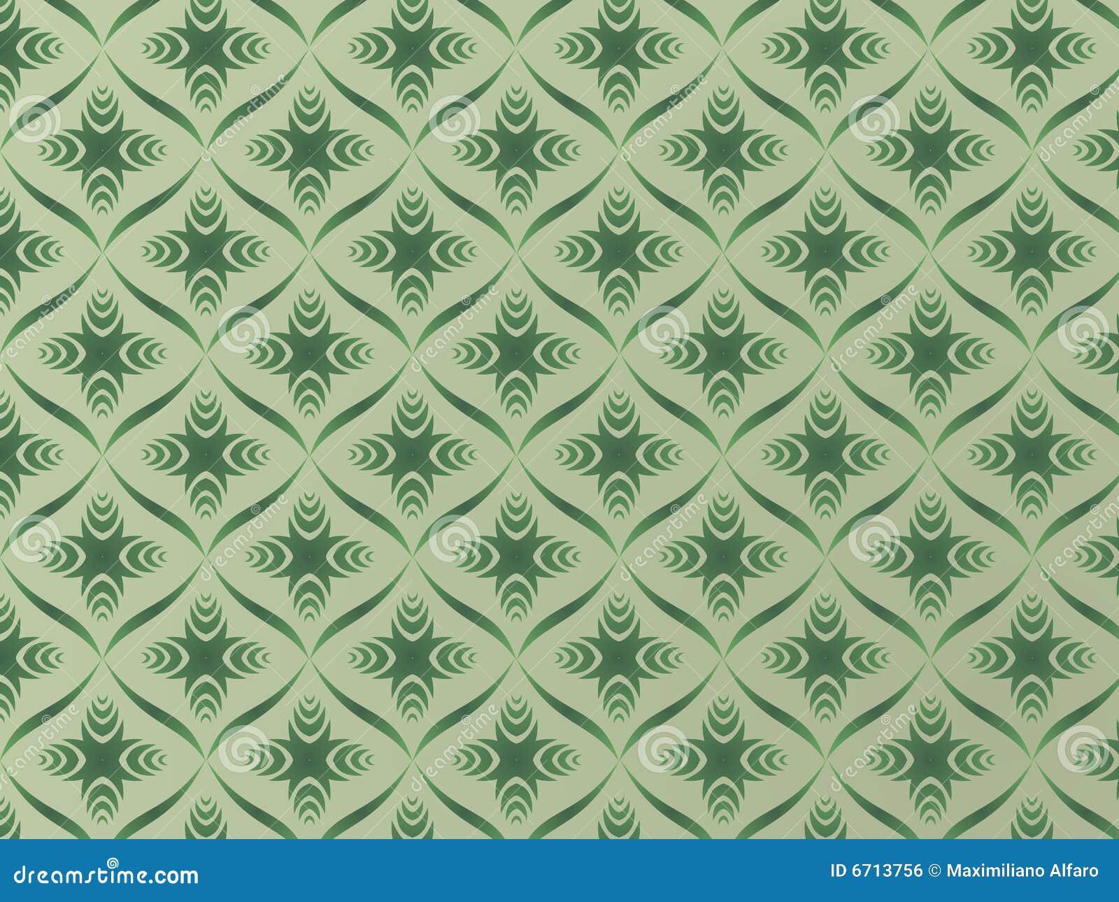 Tappezzeria verde immagine stock libera da diritti for Tappezzeria 3d