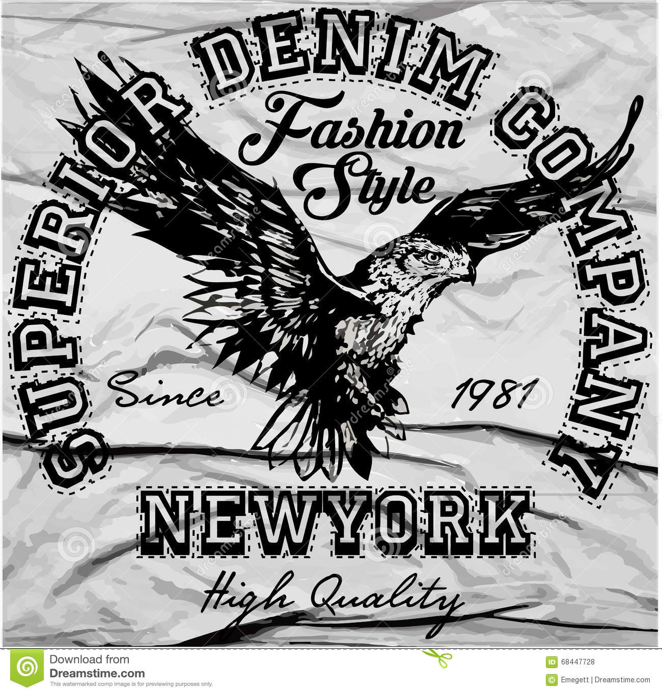 Tappning Americana Eagle Graphic