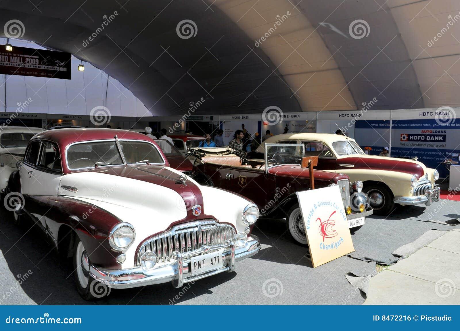 Tappning för bilshow