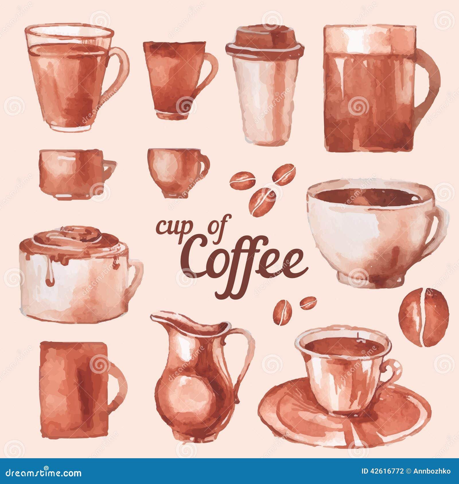 Tappningkoppar kaffe