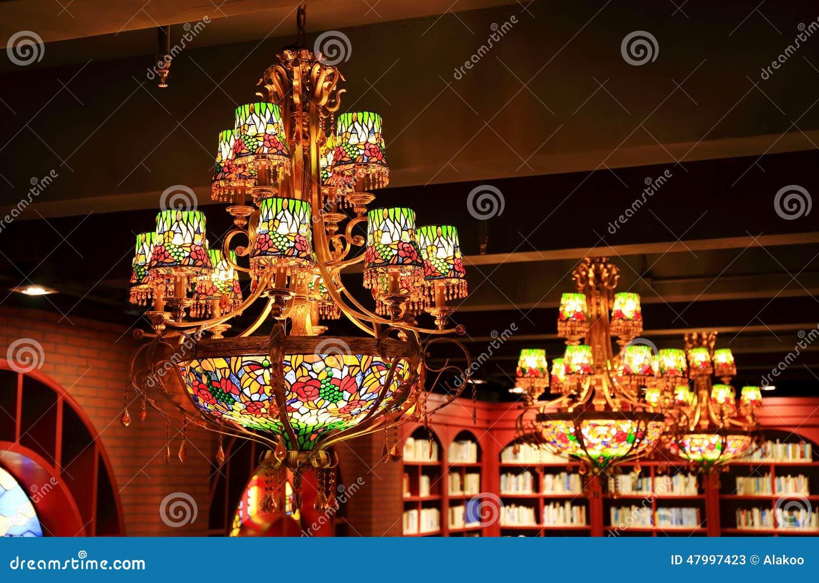 Tappningljuskrona, dekorativt ljust fast tillbehör för tak, retro hängelampa