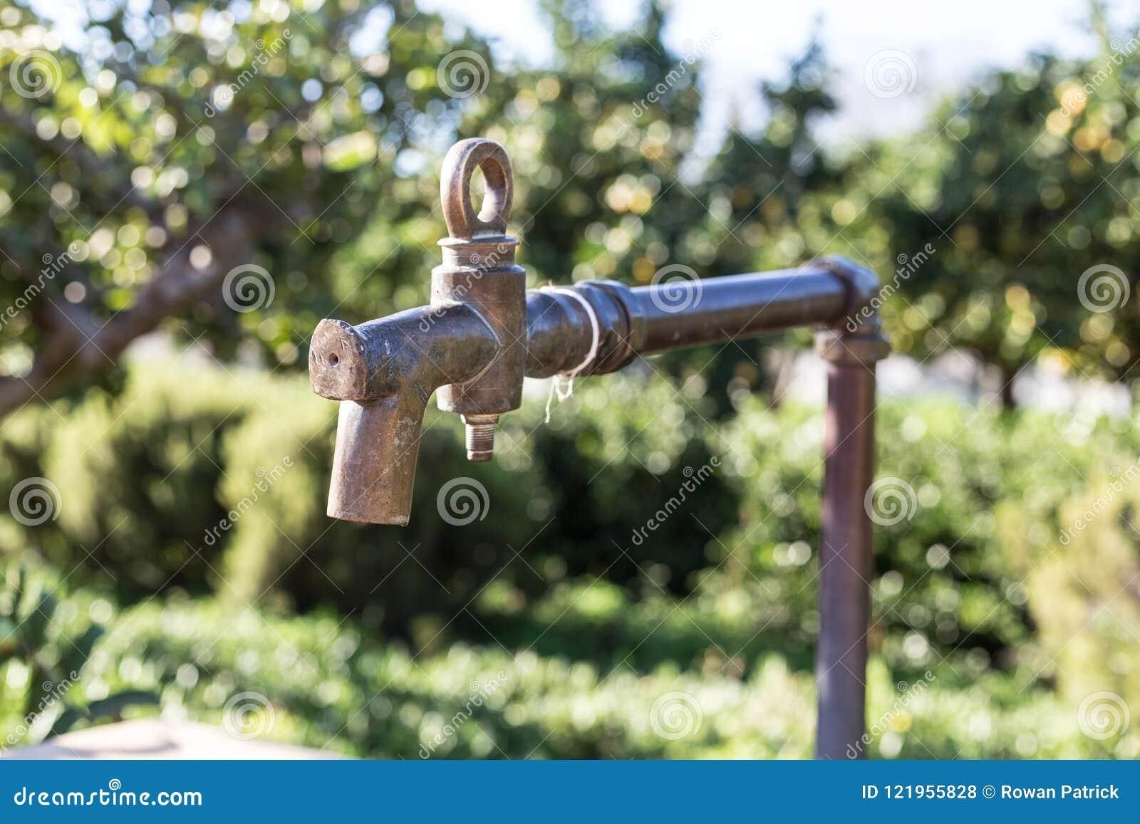 Tappningmässingsvattenklapp