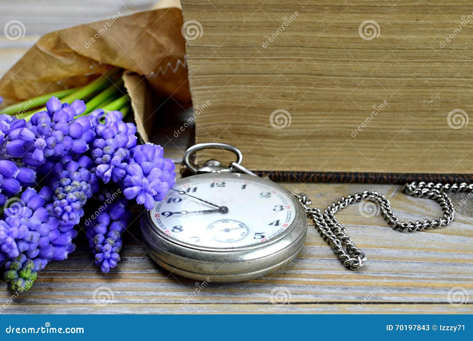Tappningrova och blommor