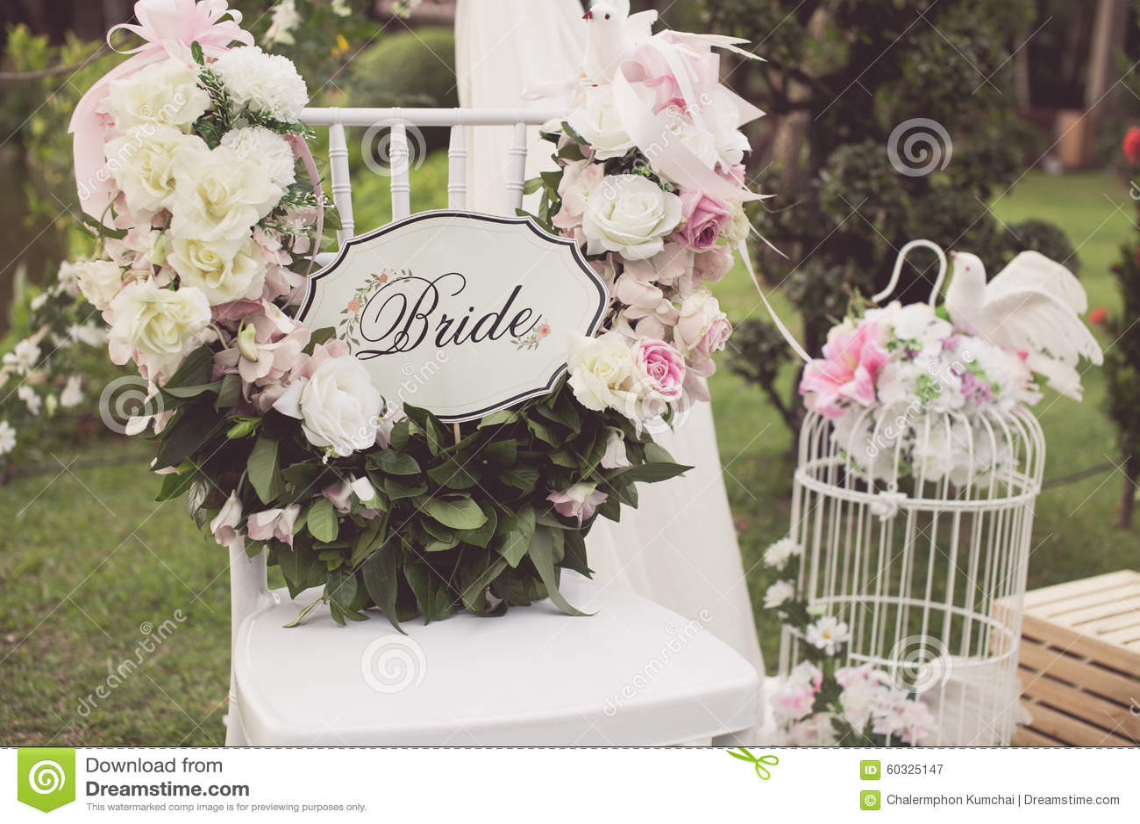 Tappningsignal av bröllopstol