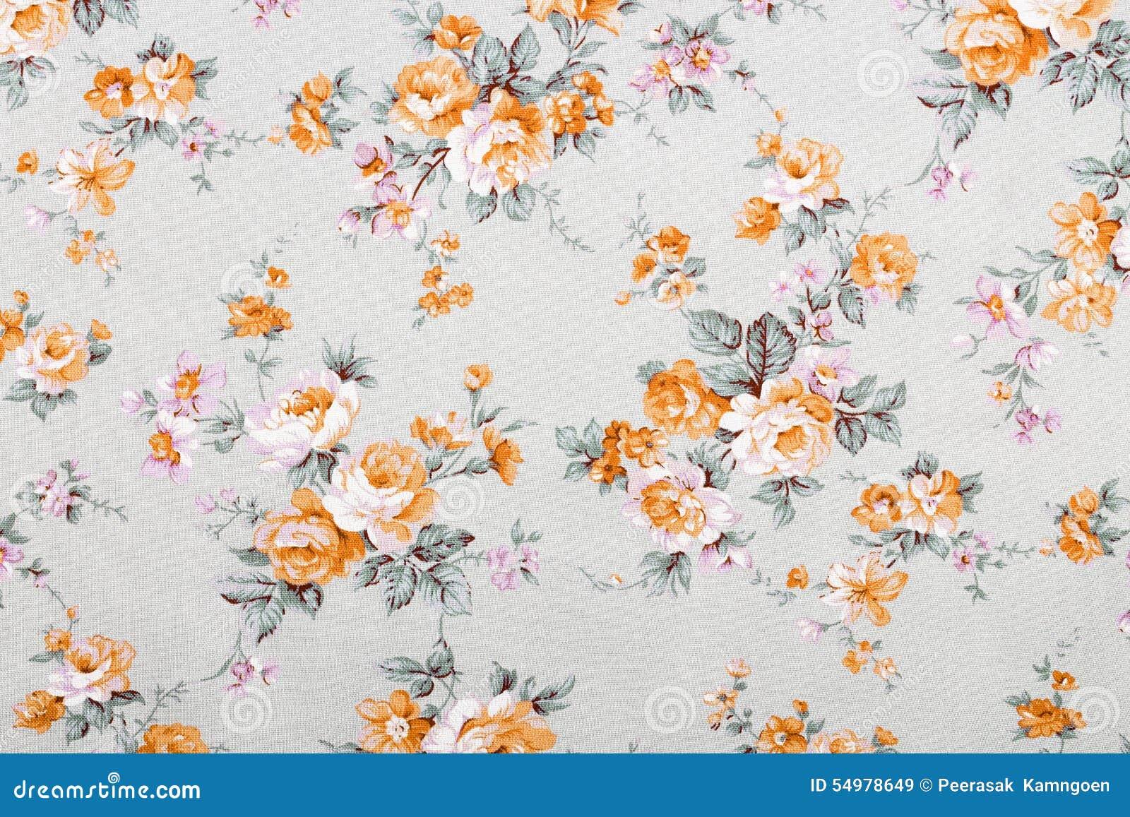 Tappningstil av gobelängen blommar tygmodellen