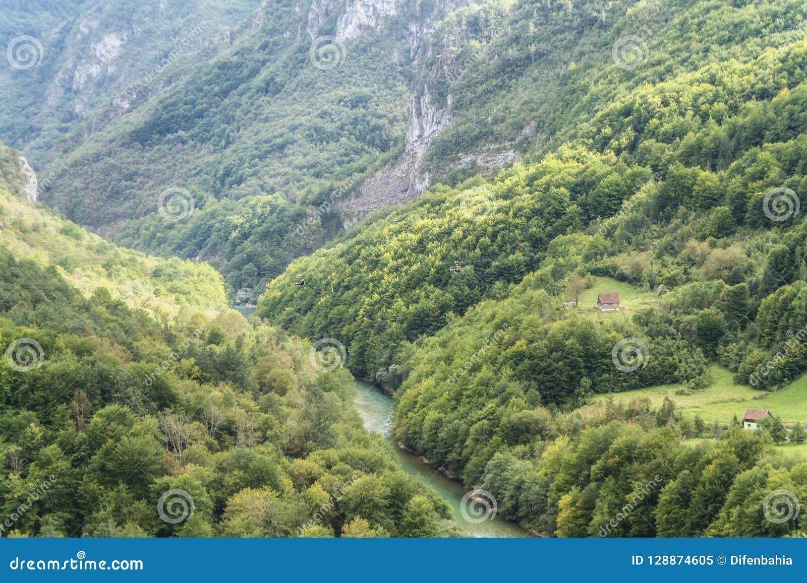 Tara canyon, Montenegro.