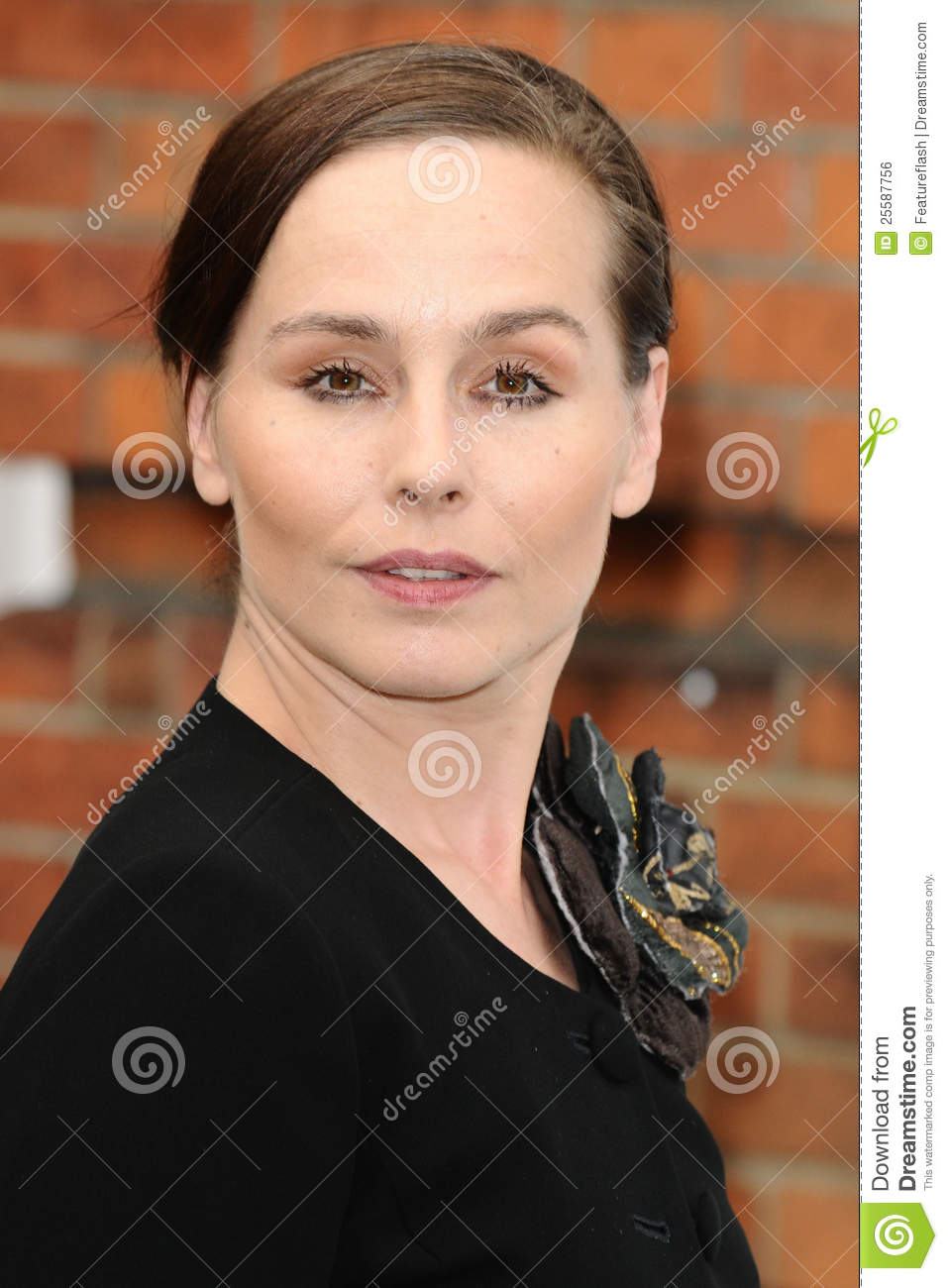 Tara Fitzgerald arriving for the English National Ballet's summer ...