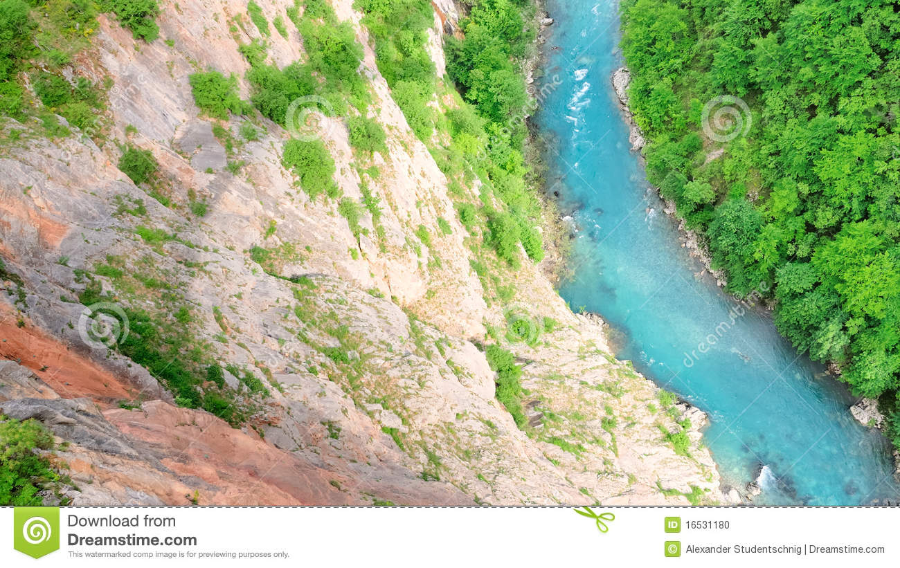 Download Tara Gorge no.1 stock photo. Image of stream, blue, turquoise - 16531180