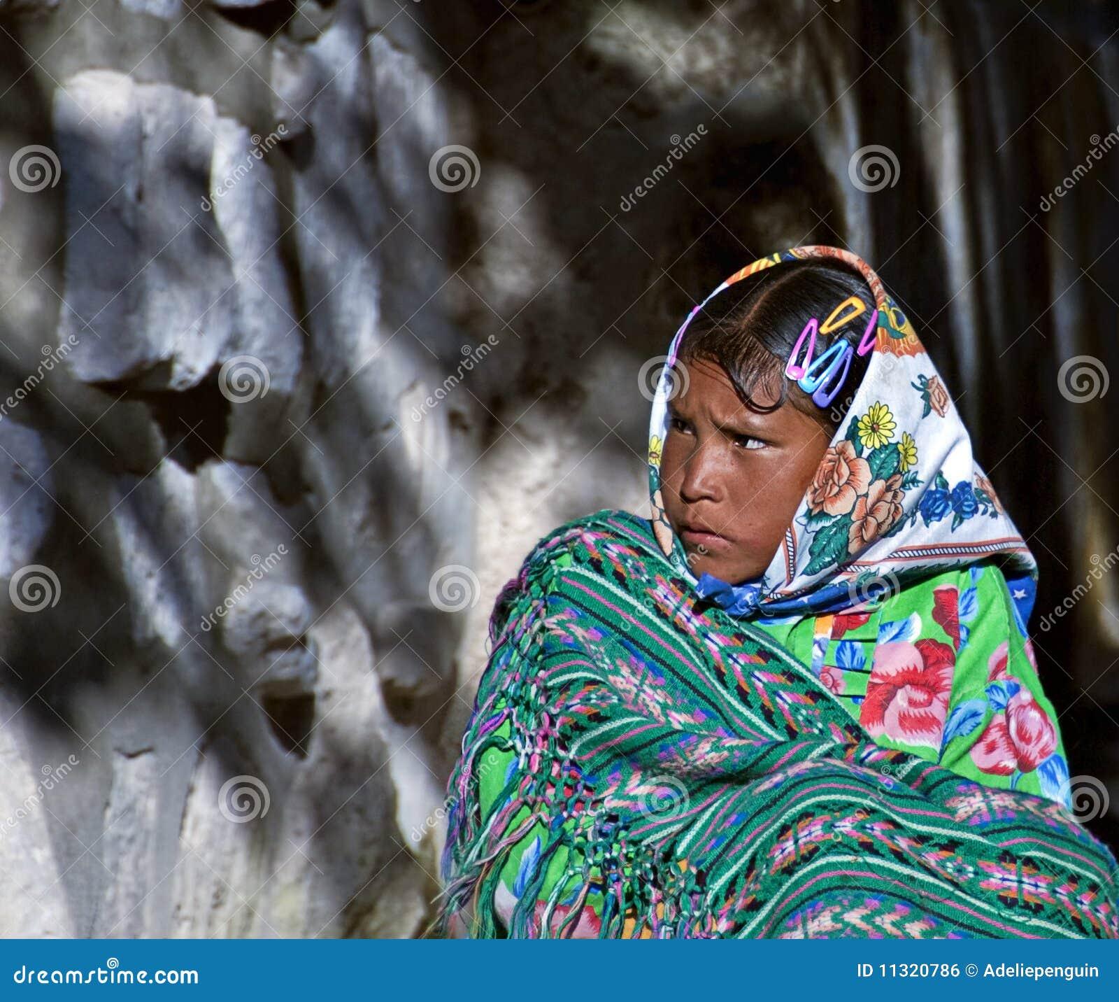 Tarahumara Mädchen