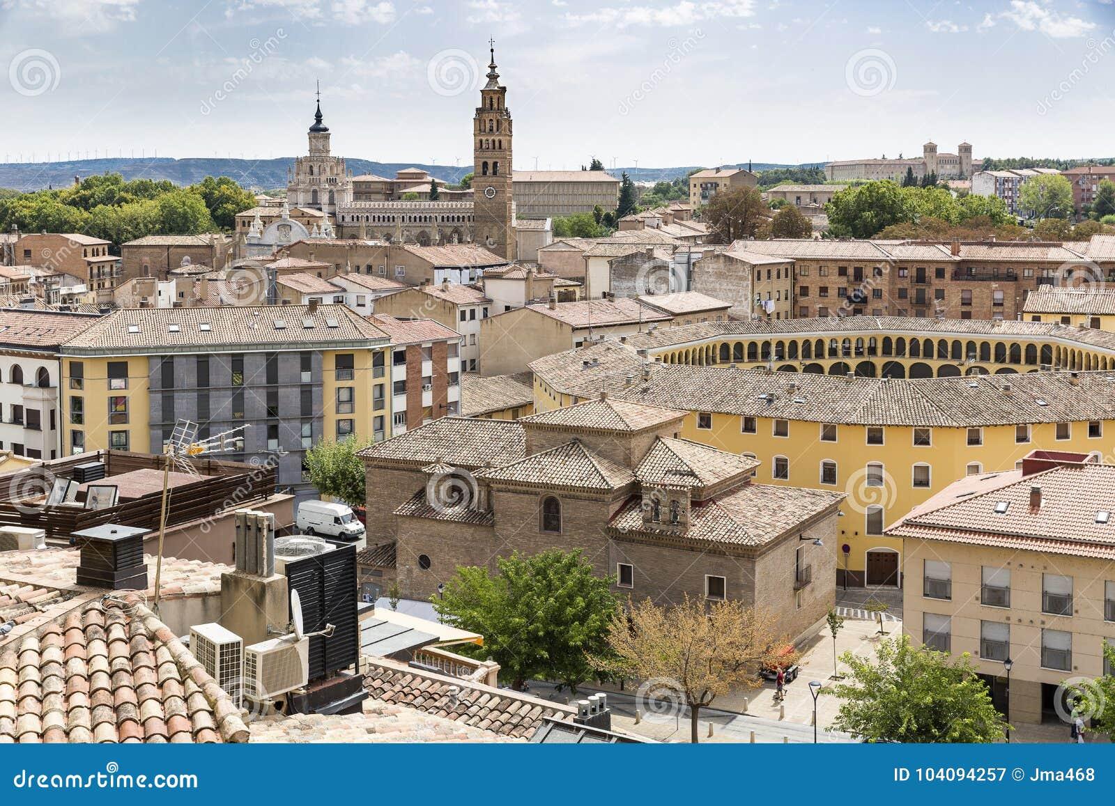 Tarazona Town Province Of Zaragoza Aragon Spain Stock Image