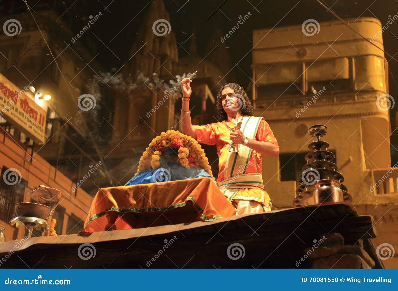 Tarde Ganga Aarti en Varanasi