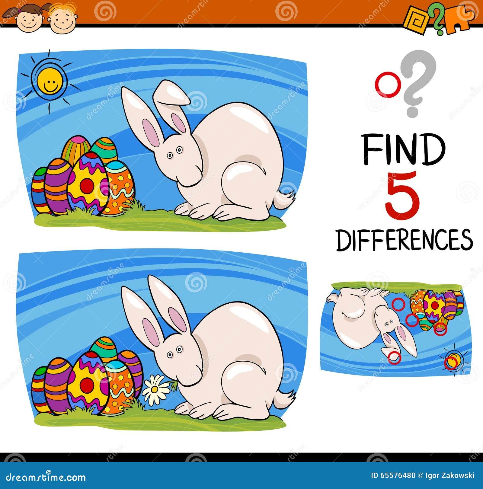 Tarefa da Páscoa das diferenças